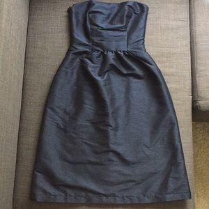 Alfred Sung Navy Strapless dress size 0